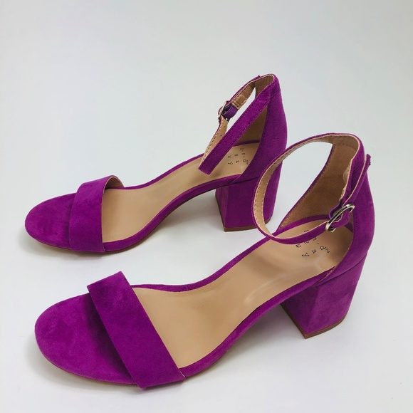 94b25015bf a new day Shoes | Womens Lilac Michaela Mid Block Heel Pump Sandals ...